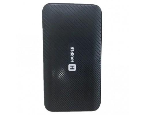 Harper Аккумулятор внешний портативный PB-10011 black (10 000mAh; Тип батареи Li-Pol; Выход 5V/2,1A; LED индикатор)