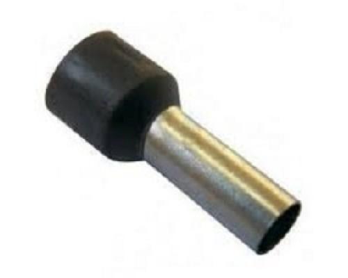 Iek UGN10-006-06-12 Наконечник-гильза Е6012 6мм2 с изолированным фланцем (черный) (100 шт)