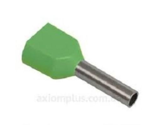 Iek UTE10-D2-2-100 Наконечник-гильза НГИ2 1,0-8 с изолированным фланцем (светло-зеленый) (100 шт)