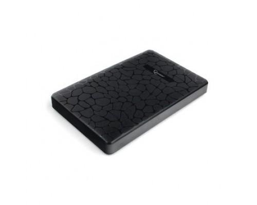 Gembird EE2-U3S-30P Внешний корпус 2.5 черный, USB 3.0, SATA, до 2 Тб, пластик