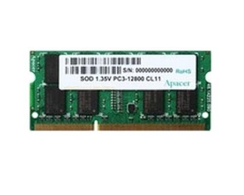 Модуль памяти Apacer DDR3 SODIMM 8GB DV.08G2K.KAM PC3-12800, 1600MHz, 1.35V