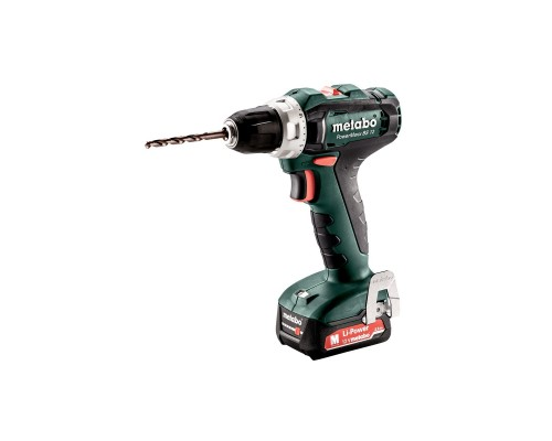 Metabo PowerMaxx BS 12 Акк.шпв. 601036500 2х2.0 Ач LiIon,кейс