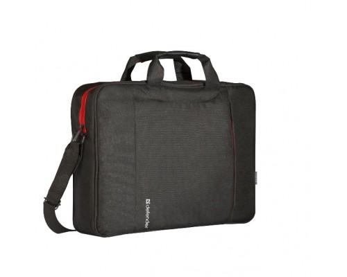 Сумка для ноутбука Defender Geek 15.6 черный, карман