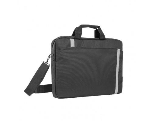 Сумка для ноутбука Defender Shiny 15-16 черный, светоотражающая полоса