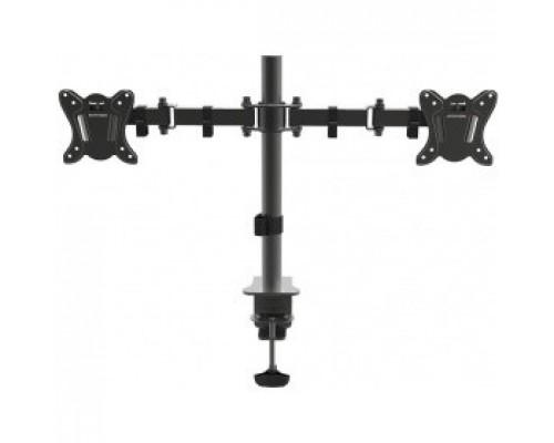 Arm Media LCD-T13 черный 15-32 макс.8кг настольный поворот и наклон верт.перемещ.