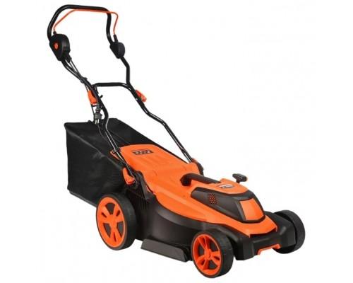 PATRIOT PT 2043E электрическая 512309236 2.0кВт, 43см, плавный пуск, травосборник 50л пластиковый, мульчирование