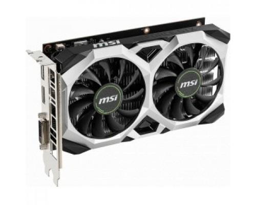 Видеокарта MSI GeForce GTX 1650 VENTUS XS 4G OC nVidia 4096Mb 128bit GDDR5 1485/8000 DVIx1/HDMIx1/DPx1/HDCP Ret