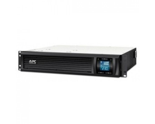 ИБП APC Smart-UPS 1000VA SMC1000I-2URS Line-Interactive, RackMount, LCD, out: 220-240V 4xC13, Gray, year warranty, No CD/ cables