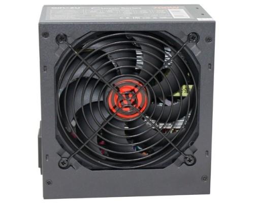 Блок питания Ginzzu CB700 12CM black,24+4p,2 PCI-E