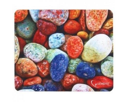 Коврики для мыши Gembird MP-STONES, рисунок камни, размеры 220*180*1мм, полиэстер+резина