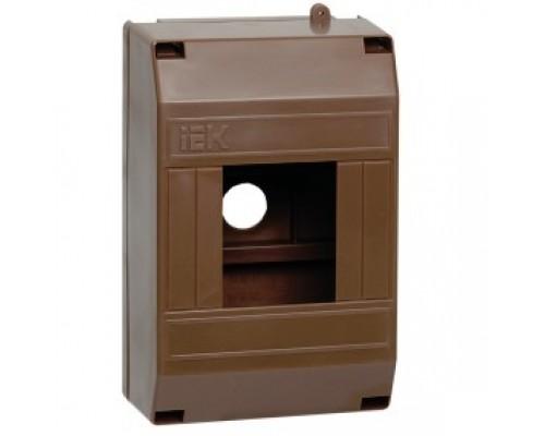IEK MKP31-N-04-30-135-D Бокс КМПн 1/4 для 4-х авт.выкл. наружн. уст. (Дуб)