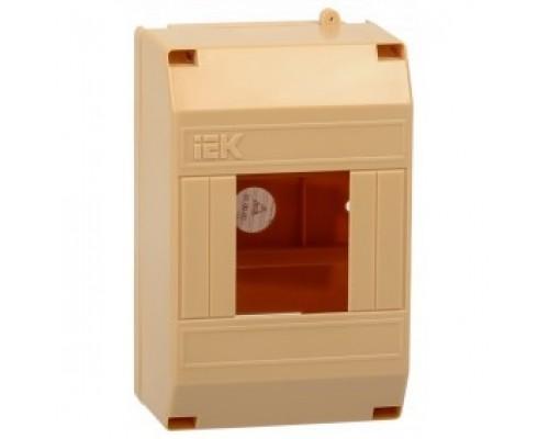 IEK MKP31-N-04-30-135-S Бокс КМПн 1/4 для 4-х авт.выкл. наружн. уст. (Сосна)