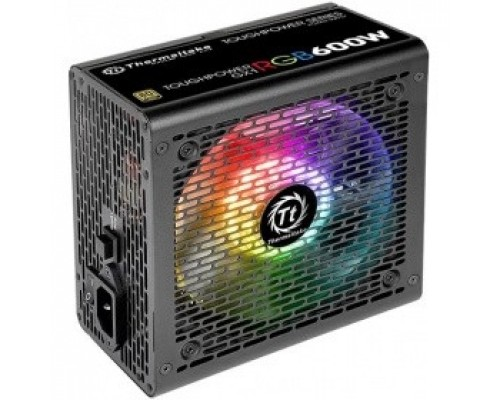Блок питания Thermaltake Toughpower GX1 RGB PS-TPD-0700NHFAGE-1 /700W/Non Modular/Fan Hub/Full Range/Analog/80 Plus Gold/EU/JP Main CAP/All Sleeved Cables