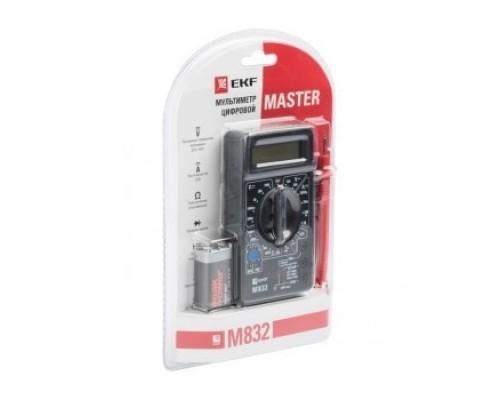 EKF In-180701-bm832 Мультиметр цифровой M832 EKF Master
