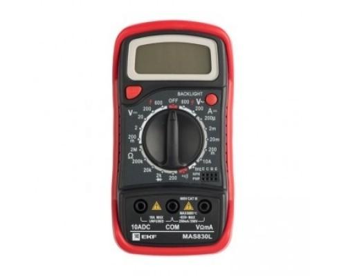 EKF In-180701-pm830L Мультиметр цифровой MAS830L EKF Expert