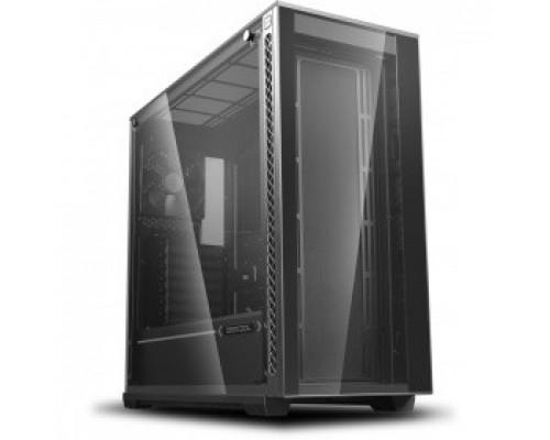 Корпус Deepcool MATREXX 70 ATX, Black, Стекл. фронтальная и боковая панели, Без БП