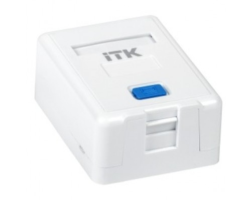 ITK CS2-012 Корпус настенной розетки для 1 мод. Keystone Jack