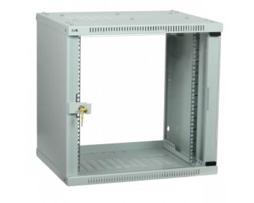 ITK LWE3-06U64-GF Шкаф LINEA WE 6U 600x450 мм дверь стекло серый