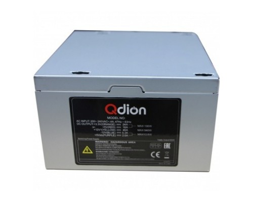 FSP 600W ATX Q-Dion QD-600-PNR 80+ 600W, 120mm, 5xSATA, 2xPCI-E, APFC, 80+