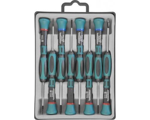 JONNESWAY (D3750P08S) Набор отверток для точной механики, 50 мм, 8 предметов