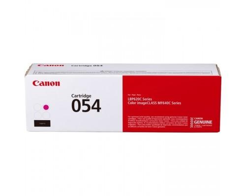 Canon Cartridge 054 M 3022C002 Тонер-картридж для Canon MF645Cx/MF643Cdw/MF641Cw, LBP621/623 (1 200 стр.) пурпурный (GR)