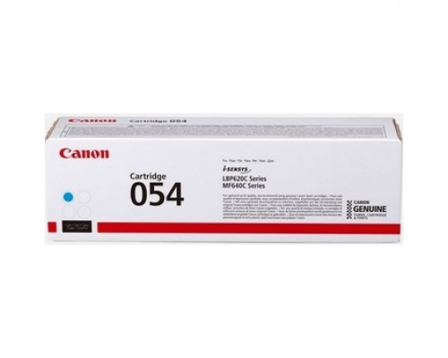 Canon Cartridge 054 HC 3027C002 Тонер-картридж для Canon i-sensys MF645Cx/MF643Cdw/MF641Cw, LBP621/623 (2300 стр.) голубой (GR)