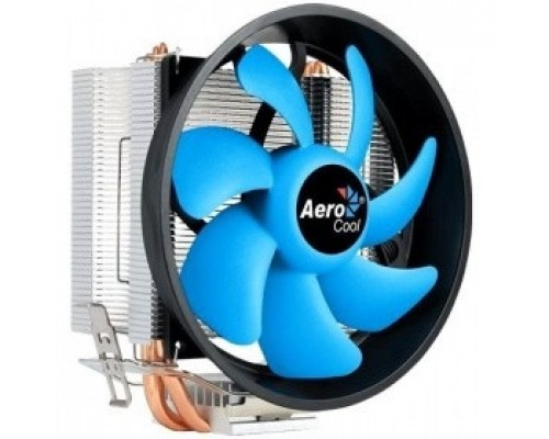 Cooler Aerocool Verkho 3 Plus 125W/ Intel 115*/AMD/ PWM/ Clip