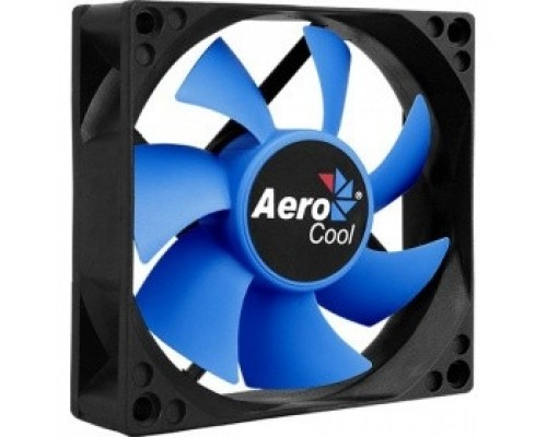 Fan Aerocool Motion 8 Plus / 80mm/ 3pin+Molex/ Black
