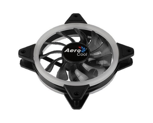 Fan Aerocool Rev RGB / 120mm/ 3pin+4pin/ RGB led