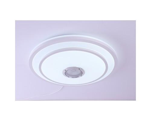 Camelion LBS-2005 (Управляемый LED светильник, 68 Вт, 3000-6000K, 4800Лм, Bluetooth, муз. колонка, RGB ,пульт)