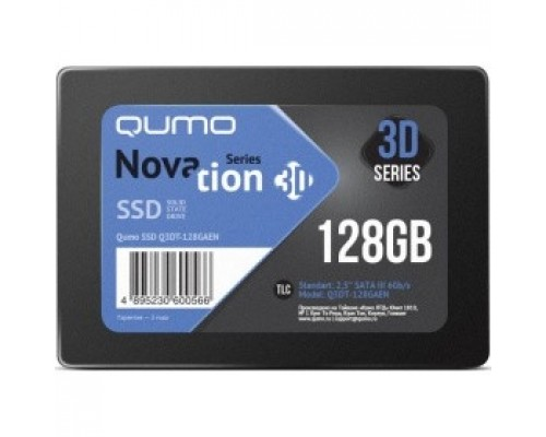 QUMO SSD 128GB QM Novation Q3DT-128GAEN SATA3.0