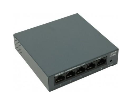 TP-Link LS105G 5-портовый 10/100/1000 Мбит/с настольный коммутатор SMB