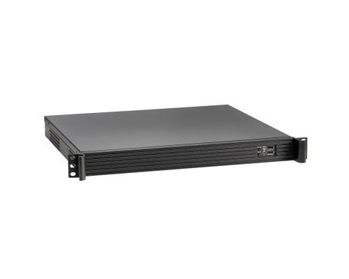 Exegate EX279686RUS Серверный корпус Exegate Pro 1U390-01 <RM 19, высота 1U, глубина 390, без БП, USB>