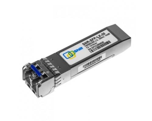 SNR-SFP-LX-20 SNR Модуль SFP оптический, дальность до 20км (14dB), 1310нм