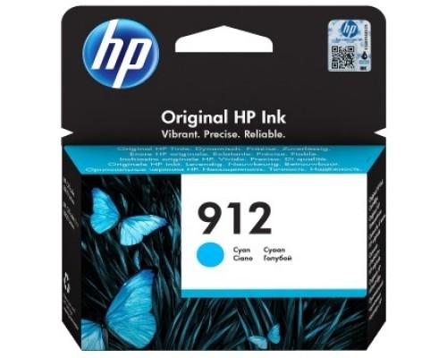 HP 3YL77AE Картридж № 912 струйный голубой (315 стр) HP OfficeJet 801x/802x