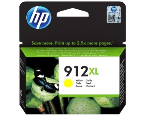 HP 3YL83AE Картридж № 912 струйный желтый (825 стр) HP OfficeJet 801x/802x