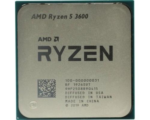 CPU AMD Ryzen 5 3600 OEM 3.6GHz up to 4.2GHz/6x512Kb+32Mb, 6C/12T, Matisse, 7nm, 65W, unlocked, AM4