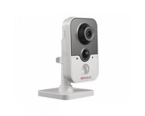HiWatch DS-I214W (B) (2.8 mm) Видеокамера IP 2.8-2.8мм цветная корп.:белый