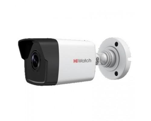 HiWatch DS-I400(B) (2.8 mm) Видеокамера IP 2.8-2.8мм цветная корп.:белый