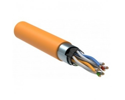 ITK LC1-C604-327 Витая пара F/UTP кат.6 4x2x23AWG LSZH оранжевый (305м)
