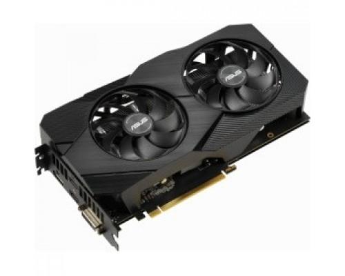 ASUS DUAL-RTX2060-O6G-EVO RTL GeForce RTX, 2060, 6144Mb, 192bit, GDDR6, 1365/14000 DVIx1/HDMIx2/DPx1/HDCP