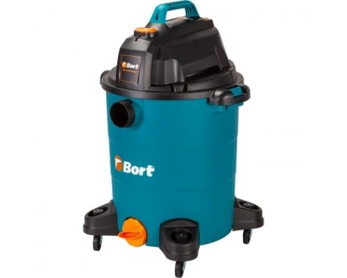 Bort Пылесос для сухой и влажной уборки BSS-1530-Premium 30 л; 1500 Вт; 23 кПа; Пылесос для влажной уборки ; 5,6 кг; набор аксессуаров 16 шт 93723460
