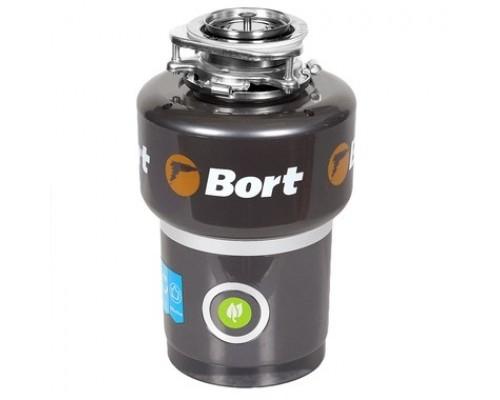 Bort Измельчитель пищевых отходов TITAN 5000 560 Вт; 5,2 кг/мин; 3200 об/мин; 1400 мл; Нержавеющая сталь; набор аксессуаров 4 шт 1275783