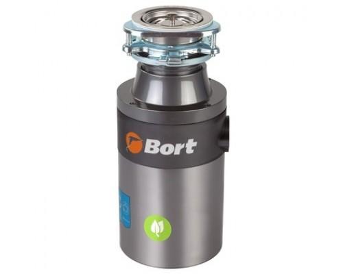 Bort Измельчитель пищевых отходов TITAN 4000 (Control) Мощность л.с. 0,75 ; 560 Вт; 4,2 кг/мин; 3200 об/мин; 1400 мл; Металл ;набор аксессуаров 5 шт 93410242