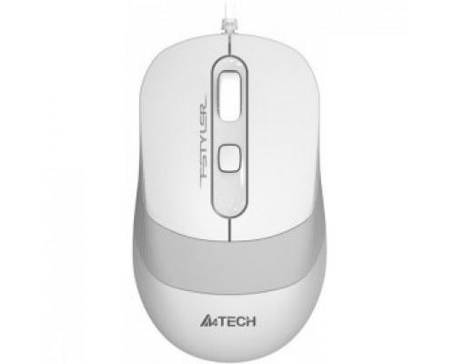 A-4Tech FStyler FM10 WHITE белый/серый оптическая (1000dpi) USB 1147676