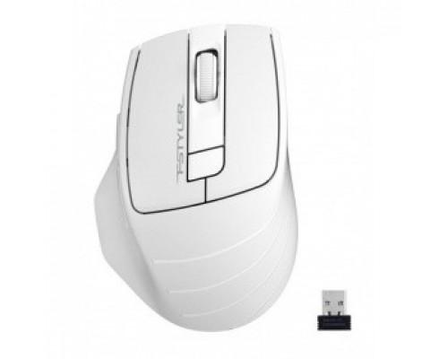 A-4Tech Fstyler FG30S WHITE серый/белый оптическая (2000dpi) беспроводная USB 1147563