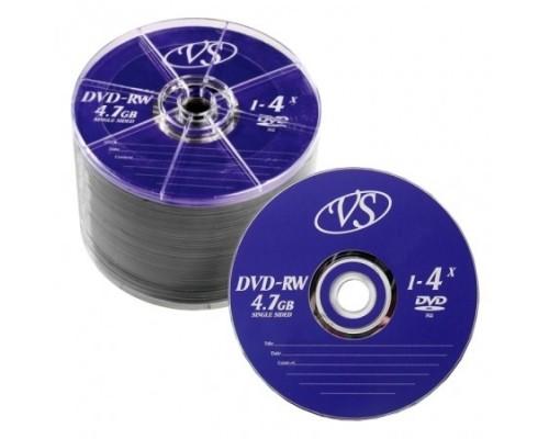 Диски VS DVD-RW 4,7 GB 4x Bulk/50