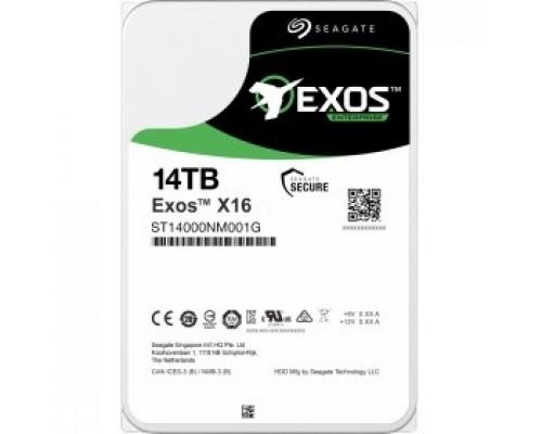 14TB SeagateExos X16 512E (ST14000NM001G) SATA 6Gb/s, 7200 rpm, 256mb buffer, 3.5