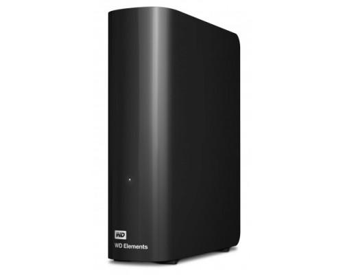 WD Portable HDD 6Tb Elements Desktop WDBWLG0060HBK-EESN USB3.0, 3.5, black