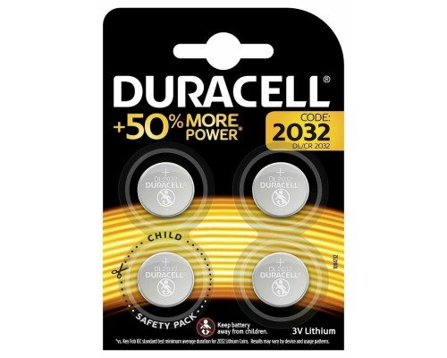 Duracell CR2032/4BL (4 шт. в уп-ке)